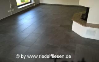 Bodenfliese 37x75cm grau, Wohnbereich