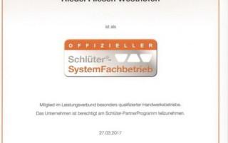 Schlüter-System-Fachbetrieb
